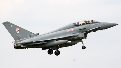 ZK382 - Eurofighter Typhoon T.3 - United Kingdom - Royal Air Force (RAF)