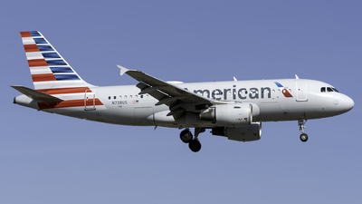 A picture of N738US - Airbus A319112 - American Airlines - © Kerrigan_Aviation_NJ