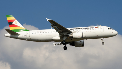 Z-WPN - Airbus A320-211 - Air Zimbabwe
