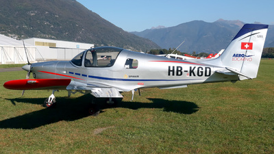 HB-KGD - Sonaca S201 - Aero Locarno