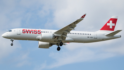 HB-JCB - Bombardier CSeries CS300 - Swiss