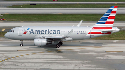 N5007E - Airbus A319-115 - American Airlines