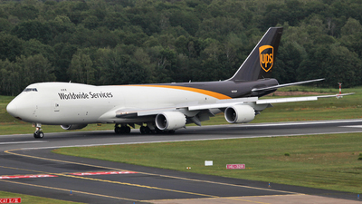 N612UP - Boeing 747-84AF - United Parcel Service (UPS)