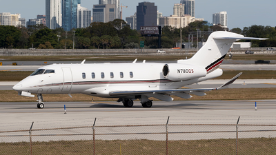 N780QS - Bombardier BD-100-1A10 Challenger 350 - NetJets Aviation