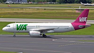 LZ-MDD - Airbus A320-232 - Air Via