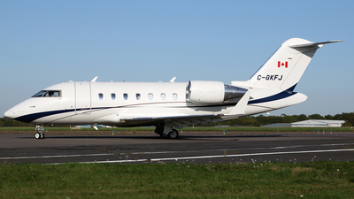 C-GKFJ - Bombardier CL-600-2B16 Challenger 605 - Private
