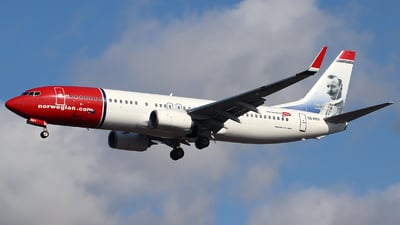 A picture of SERRY - Boeing 7378JP - Norwegian - © n94504