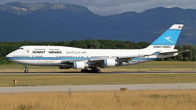 9K-ADE - Boeing 747-469(M) - Kuwait Airways