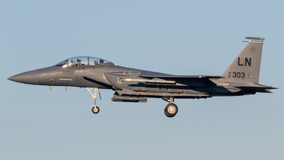 91-0303 - McDonnell Douglas F-15E Strike Eagle - United States - US Air Force (USAF)