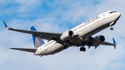 A picture of N78438 - Boeing 737924(ER) - United Airlines - © Nick Sheeder