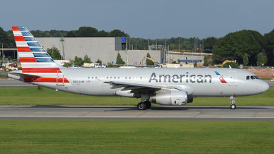 A picture of N653AW - Airbus A320232 - American Airlines - © DJ Reed - OPShots Photo Team