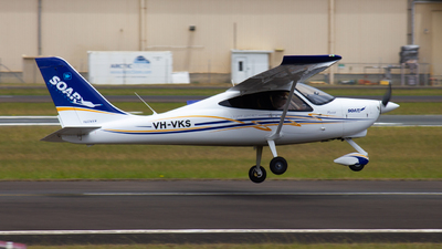 VH-VKS - Tecnam P2008 - Soar Aviation