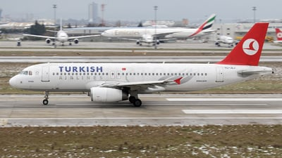 TC-JLJ - Airbus A320-232 - Turkish Airlines