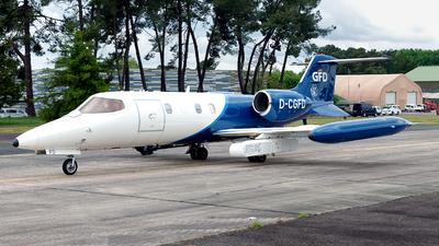 D-CGFD - Bombardier Learjet 35 - Gesellschaft für Flugzieldarstellung (GFD)