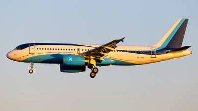 CS-TFY - Airbus A320-232 - MasterJet