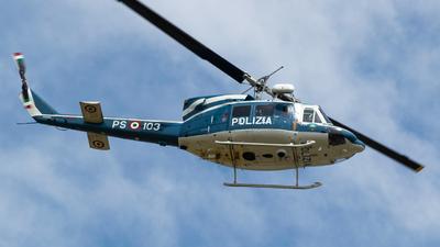 MM81660 - Agusta-Bell AB-212AM - Italy - Polizia di Stato