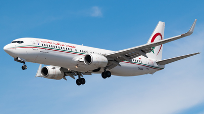 A picture of CNRNW - Boeing 7378B6 - Royal Air Maroc - © Frankie A Said