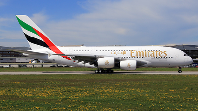 F-WWSK - Airbus A380-842 - Emirates