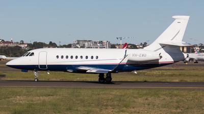 VH-EWB - Dassault Falcon 2000LX - Private
