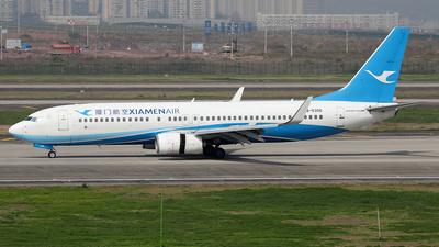 A picture of B5305 - Boeing 73785C - Xiamen Air - © YIJING HOU