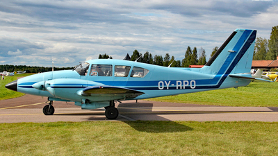 OY-RPO - Piper PA-23-250 Aztec E - Private