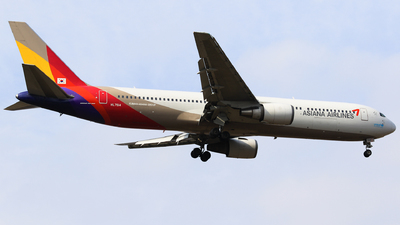 HL7514 - Boeing 767-38E - Asiana Airlines