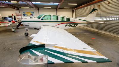 F-GOSF - Beechcraft A36 Bonanza - Private