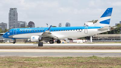 LV-CMA - Embraer 190-100IGW - Aerolíneas Argentinas