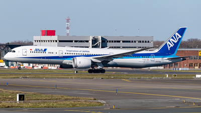 JA875A - Boeing 787-9 Dreamliner - All Nippon Airways (Air Japan)