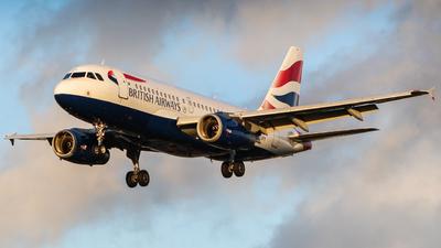 G-EUPY - Airbus A319-131 - British Airways