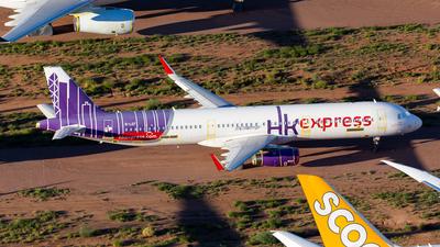 A picture of BLEF - Airbus A321231 - Hong Kong Express - © Joel Baverstock