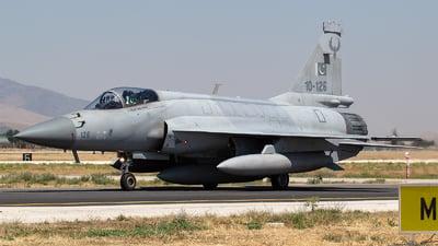 10-126 - Pakistan JF-17 Thunder - Pakistan - Air Force