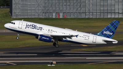 N712JB - Airbus A320-232 - jetBlue Airways