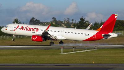 A picture of N747AV - Airbus A321231 - Avianca - © Daniel Rios P
