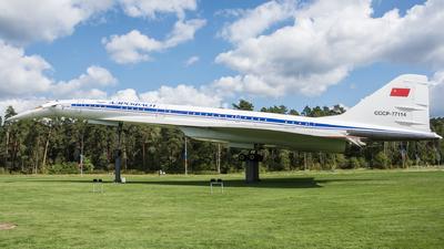 CCCP-77114 - Tupolev Tu-144LL - Aeroflot