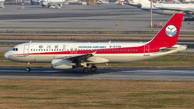 A picture of B6779 - Airbus A320232 - Sichuan Airlines - © yuanye