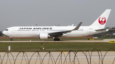 JA621J - Boeing 767-346(ER) - Japan Airlines (JAL)