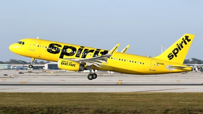 N642NK - Airbus A320-232 - Spirit Airlines