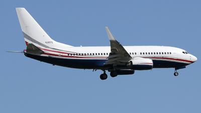 N315TS - Boeing 737-7CU(BBJ) - Private