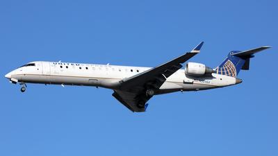 A picture of N531GJ - Mitsubishi CRJ550 - United Airlines - © Len Schwartz