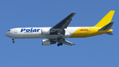 A picture of N642GT - Boeing 7673Y0(ER)(BDSF) - DHL - © Jose R. Ortiz