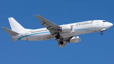 N314XA - Boeing 737-484 - Swift Air