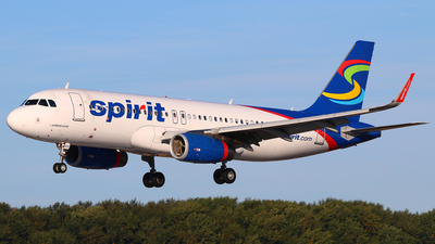 N619NK - Airbus A320-232 - Spirit Airlines