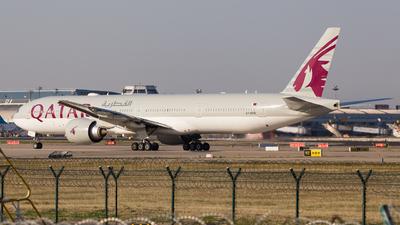 A7-BAQ - Boeing 777-3DZER - Qatar Airways