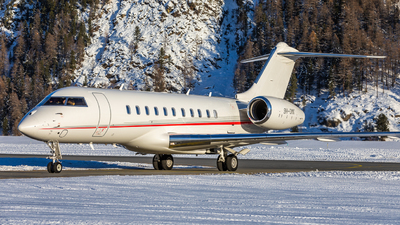 A picture of 9HOMK - Bombardier Global 5000 -  - © Marcel Moser