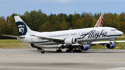 N767AS - Boeing 737-490 - Alaska Airlines