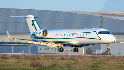 9H-JAD - Bombardier CL-600-2B19 Challenger 850 - Air X Charter