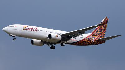 A picture of PKLZO - Boeing 7378GP - Batik Air - © Bernard Effendy
