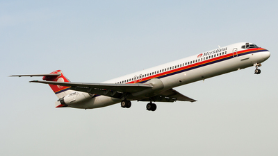 EI-CNR - McDonnell Douglas MD-83 - Meridiana