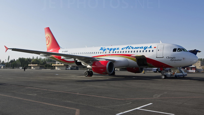 EX-32001 - Airbus A320-212 - Kyrgyz Airways
